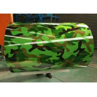 Buy cheap Green Printing Prepainted Galvalume Steel Coil 55% AZ30-120 For Decoration from wholesalers
