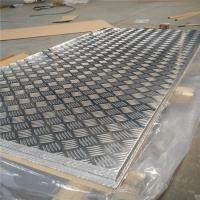 Quality Corrosion Resistance Aluminum Diamond Plate Sheets Anti Skid Flooring Good Forming Performance wholesale