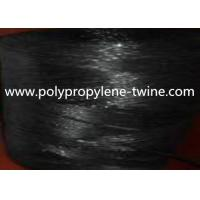 7500Denier Black Banana Twine Virgin PP Material Twisted and UV Protection