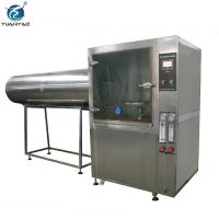 Buy cheap Custom Stainless steel Ipx3 Ipx4 Ipx5 Ipx6 Water spray resistance test chamber from wholesalers