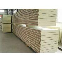 Quality 100mm Polyurethane Insulation Panels , 3 Layers Cold Room Sandwich Panel wholesale