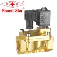 Quality Auto Brass Liquid Magnetic Latching Solenoid Self Holding Normally Closed Energy Saving wholesale