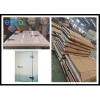 Quality Sandwich Insulated Doors For Cold Rooms / White Cold Storage Doors wholesale