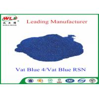 Quality High Stability Indigo Blue Dye Textile Dyeing Chemicals Water Resistant wholesale