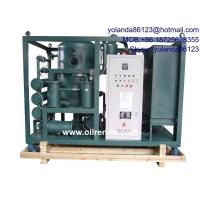 Quality High Vacuum Oil Dehydration Plant, Oil Degassing, Oil Dehyrating System for Transformer Oil wholesale