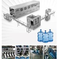 Quality 3 Gallon 5 Gallon Water Filling Machine Barrel Water Rising Filling Capping Machine wholesale