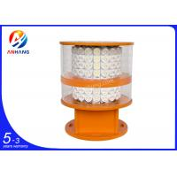 Quality City high-rise buildings used White LED Lamp, medium intensity aviation obstruction wholesale