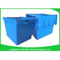 Cheap Industries New PP Plastic Bin Storage , 60L Large Plastic Storage Containers 750 * 570 * 625mm for sale
