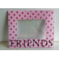 Quality Decorative 3D Wall Mounted Acrylic Photo Frames With Magnet And Screen Print wholesale
