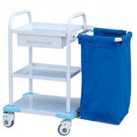 Quality Durable Medical Trolley Cart For Contaminant , Hospital Medical Trolley wholesale