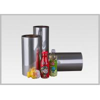 China Eco Roll Petg Shrink Film For Drink Packaging , Clear Heat Shrink Wrap Film on sale