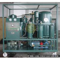 Quality Vacuum Turbine Oil Purifier Demulsifying Device Water Separator Custom Color wholesale