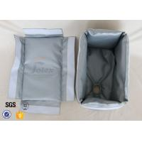 Quality Removable Fiberglass Insulation Jacket 300℃ 25MM Heat Resistant Actuator Cover wholesale