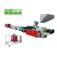 Quality High Efficient Twin Screw Extruder , SJZS Twin Screw PVC Pipe Extrusion Machine wholesale
