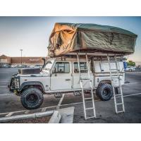 Quality Green And Beige Off Road Roof Top Tent 310*190*130CM Unfolding Size wholesale