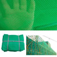 Buy cheap Green, Blue, 100% Virgin HDPE Construction Building Safety Barrier Net, from wholesalers