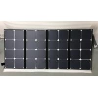 Quality Light Weight SunPower Folding Solar Panels 100 Watt Easy Carry For Camping wholesale