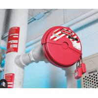 Cheap ABS  Material Red  Two Padlocks Available Valve Lock Out  with Rewritable Labels for sale
