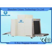 Quality 1m*1m Tunnel Size Dual View Baggage Security X-Ray Machines One-key Shutdown Control wholesale