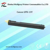 Quality Compatible for Canon GPR-13 Y toner cartridge wholesale