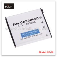 Quality Camera Battery NP-60 For Casio wholesale