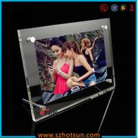 Quality acrylic photo strip frames/ acrylic photo frames 4x6 wholesale