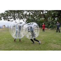 Quality 0.7mm TPU Human Bubble Ball / Inflatable Bumper Ball For Outdoor Activity wholesale