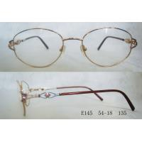 Quality Full Rim Metal Optical Spectacles Frames For Women For Round Face wholesale