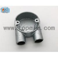 Quality BS4568 Gi Conduits And Accessories Two Way U Junction Box Casting Technics wholesale
