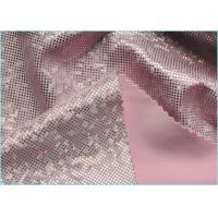 Quality Pink Shattered Dazzle Mystique Spandex Fabric Wholesale for Swimwear , Leggings , Dancewear wholesale