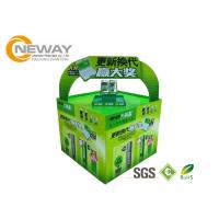 Quality Light Duty Paper Cardboard Pop Up Display Stands / Pop Cardboard Point Of Purchase Displays wholesale