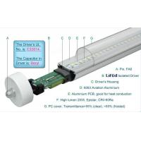 Quality 1800LM Epistar 4 Foot T8 LED Tube Lights 19W Fa8 Single Pin , LED T8 Replacement Tubes wholesale