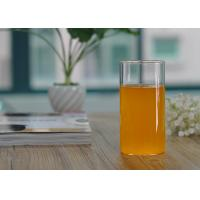 Quality Straight Cylinder 355ml Borosilicate Single Wall Glass Cup Drinkware wholesale