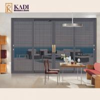 Quality Aluminium Sliding Patio Screen Door For Insect & Forced Entry Prevention Model: 86 wholesale