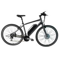 Quality E Bike Front Suspension Mountain Bike , Motor Assisted Bicycle Electric V Brakes wholesale