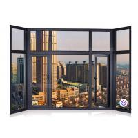 Cheap Soundproof Glass Profile Aluminium Window And Door Windows And Doors Standard Size for sale