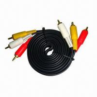 Quality Composite RCA A/V Cable, Best Price and High-quality, Short Delivery Lead Time wholesale