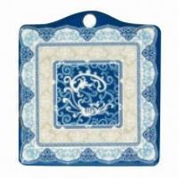 Quality Plastic Pot Holder, Made of Melamine, Available in Various Designs, Customized Artworks are Accepted wholesale