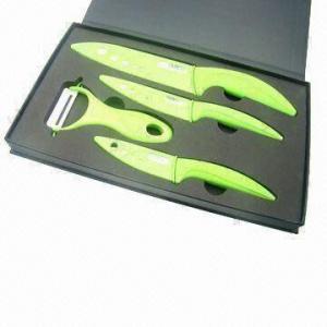 Quality Zirconia ceramic knife set with knife sheath wholesale