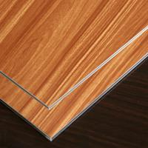 Quality wooden design Alucobond low-density polyethylene core interior decoration wholesale