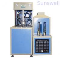 China 380V / 14KW Semi-Automatic Bottle Blow Molding Machine to make PET bottles for edible oil on sale