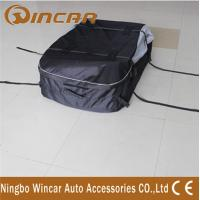 Quality Dual open Roof Top Cargo Bag , 600D Oxford Polyester Roof Carrier Bag wholesale