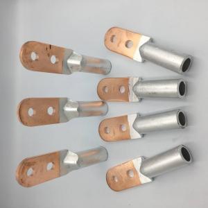China Custom Made Aluminum Terminal Block , Aluminium Tube Connectors 10mm2 - 800mm2 on sale