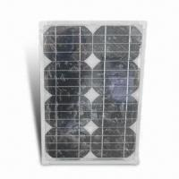 China 13.6W Solar Panel/Laptop Charger with 16V Voltage and 0.85A Current on sale