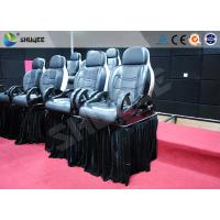 Quality Luxury Mobile Motion Theater Chair 5D / 7D / 9D With Air And Water Spray wholesale
