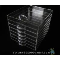 Quality BO (115) acrylic wine case wholesale