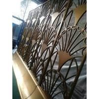 Quality Black Metal Laser Cut Panels For Garden Fence Privacy Fence Metal Fence wholesale