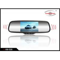 Quality 5 Inch Audio LCD Rear View Mirror Backup Camera System For Commercial Vehicle wholesale