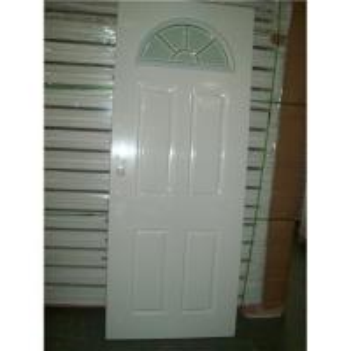 Cheap 4 Panel With Half Moon Glass Door Half Moon Tempered Glass Door Interior Panel Glass