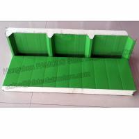 China Durable Corrugated PU Roofing Panels Thermal Insulation Windproof on sale